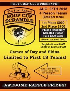 golf flier soup cup